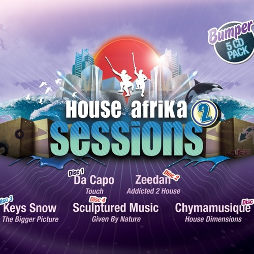 Da Capo - Touch CD 1 preview for listening (House Afrika Sessions 2)