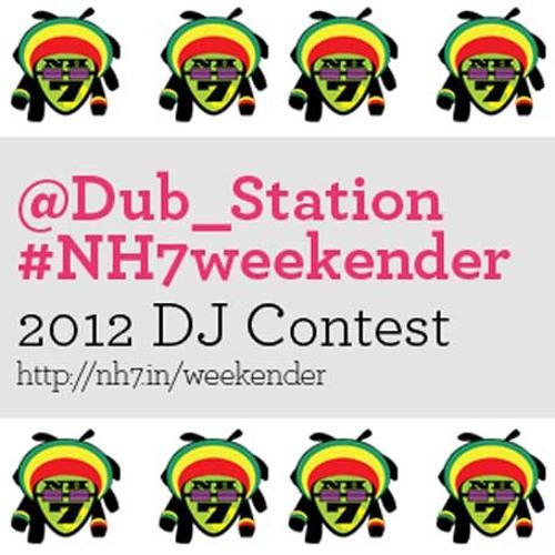 #nh7weekender - @dub_station stage dj contest - sachin arora