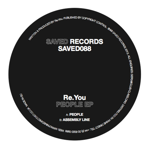 Re.You - People (soundcloud preview)