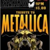 Freakshow Tribute To Metallica At Koots