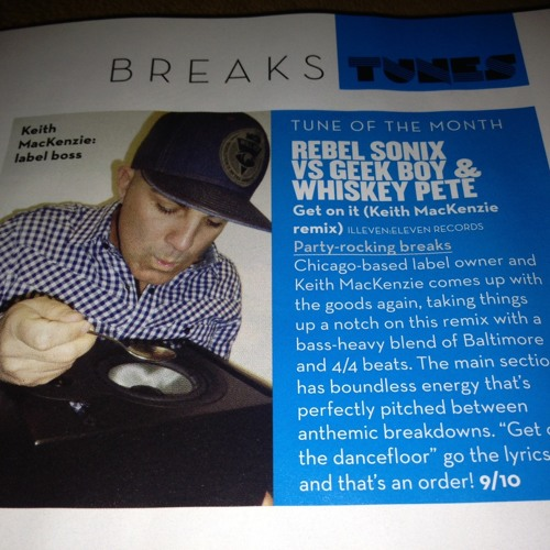 SINGLE OF MONTH MIXMAG! Rebel Sonix vs Geek Boy and Whiskey Pete - Get On It (Keith MacKenzie Mix)