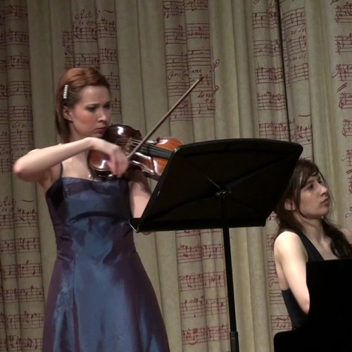 Brahms Sonata For Violin and Piano III Movement 3 (extract, live performance)