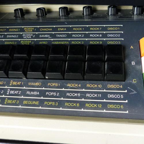 Permut8 processed Korg Rhythm 55 loop