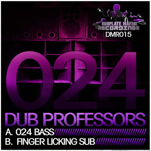 DMR015-B - Dub Professors - Finger Lickin Sub - Available From: Monday 3rd December 2012