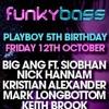 FUNKYBASS 5TH BIRTHDAY - SIOBHAN & TOM Z LIVE - 12.10.12 - LOFT XSCAPE