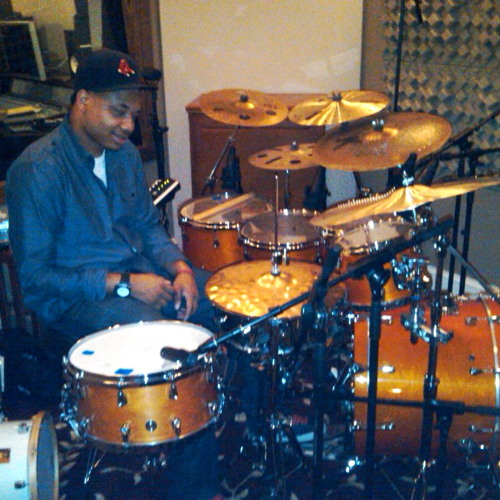 Me on Aaron hardins jazz album....