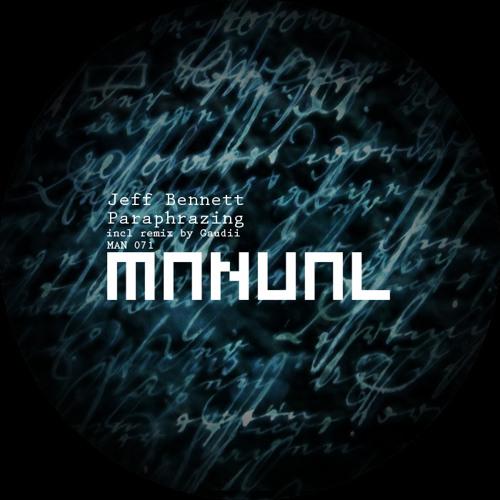 Jeff Bennett - Repulzive - Manual Music