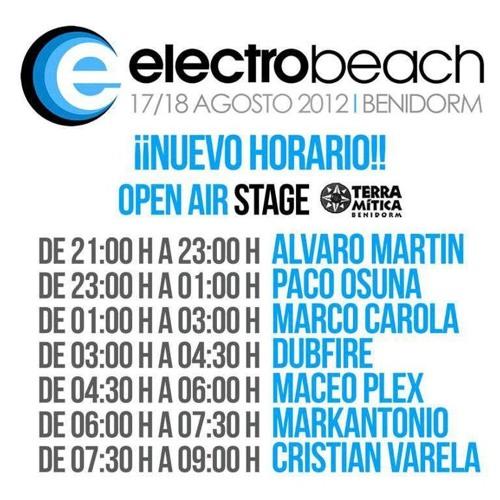 Markantonio Live_Electrobeach Festival 2012 (Benidorm, Spain) free Download