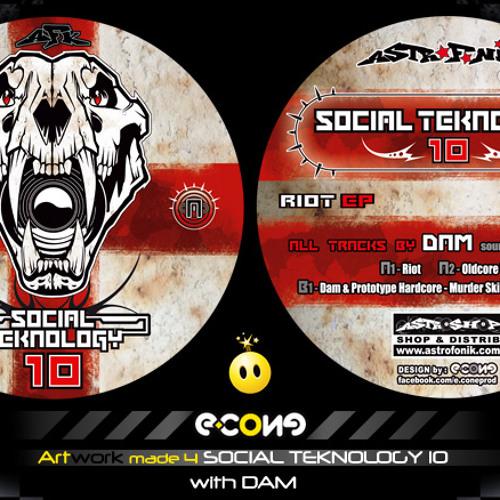 Dam & Prototype Hardcore - Murder skills OUT on Social Teknology 10