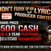 Hopsin - Trampoline REMIX (Beat & Mix by Dillz.) DON'T FUNK UP OUR LYRICS CONTEST