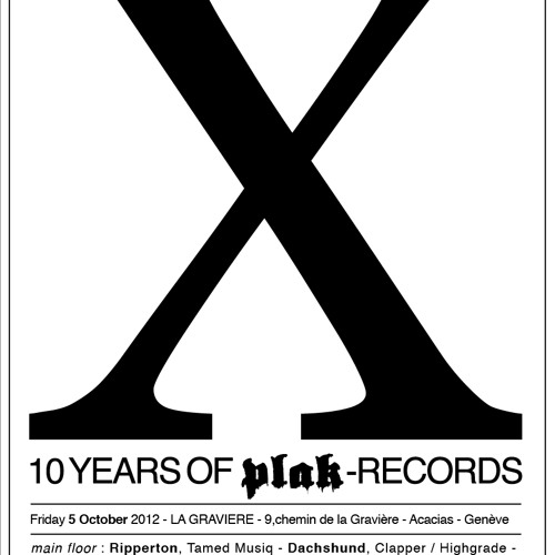Autobahn: Plak Records X Years Session