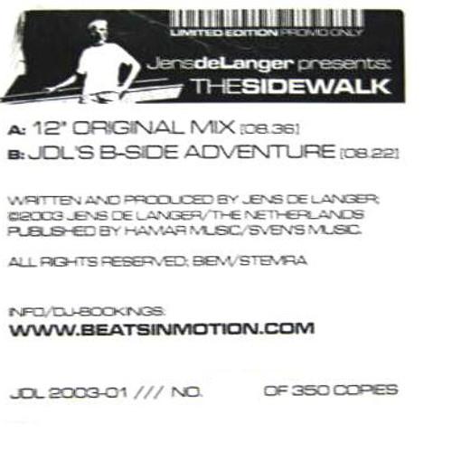 Jens de Langer - The Sidewalk (2004)