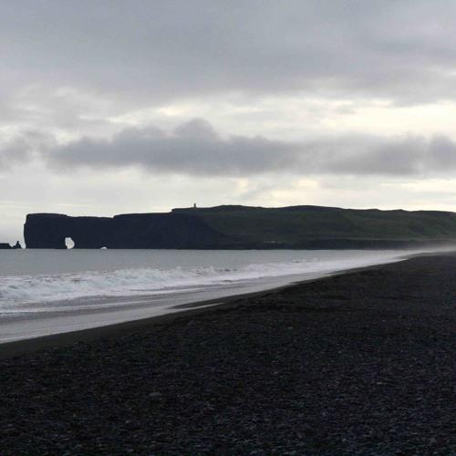 Waves At Black Sand Beach Near V K Iceland By Mcdrzl