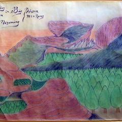 Valley of the Moon in Big Horn Mtn Rang Sheridan Wyoming