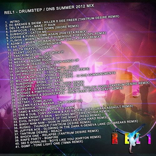 REL1 - Drumstep and DnB mix summer 12