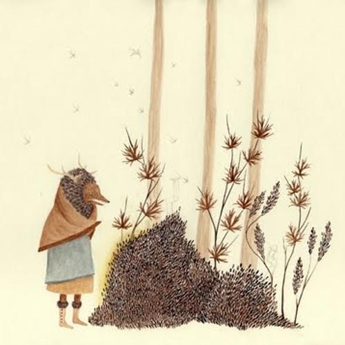 Sepia - forestalks
