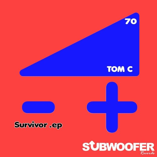 OUT NOW TOM C - SURVIVOR (Incl remix from Apes on Amphetamines & Jérémy Maha) // Subwoofer Records