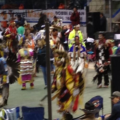 Pow Wow at Woodland Cree