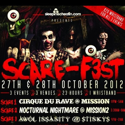 Tom Garnett - SCARE-F3ST 2012 MIX | 27th & 28th October