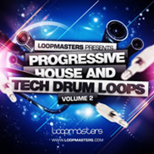 Progressive Tech House Drum Loops Vol.2