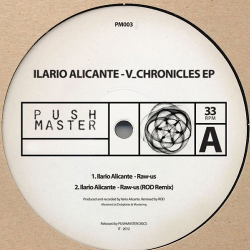 Ilario Alicante- Raw Us 'ROD Remix' (Pushmaster Discs) PREVIEW