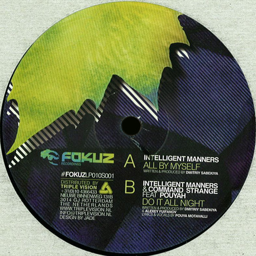 Intelligent Manners - All By Myself (THE MOVEMENT LP sampler / Fokuz - 12' vinyl)