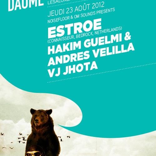 Estroe (NED) live at le Salon Daomé, Montreal Canada - August 2012
