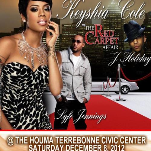 A&M Promotions presents Keyshia Cole in Houma Dec 8th 2012 w Lyfe Jennings x  J Holiday x Wild Wayne