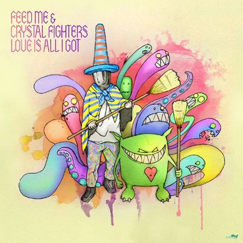 Feed Me & Crystal Fighters - Love Is All I Got (Friction Remix)
