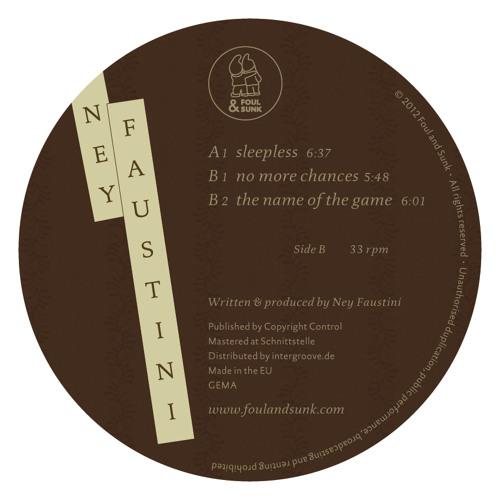 B1. Ney Faustini - No More Chances [Foul & Sunk] (clip)