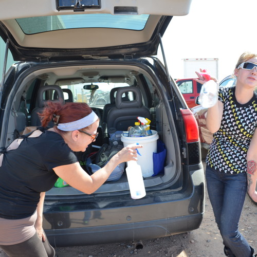 Dirty Girls Aim To Clean Up Williston