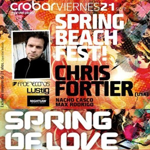 Chris Fortier @ Crobar Mar Del Plata (September 21, 2012)
