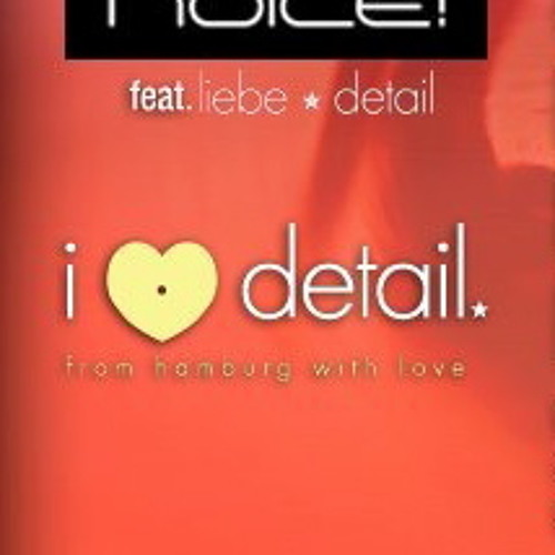Noice! presents: Liebe*Detail Podcast with Patlac / oct.2012
