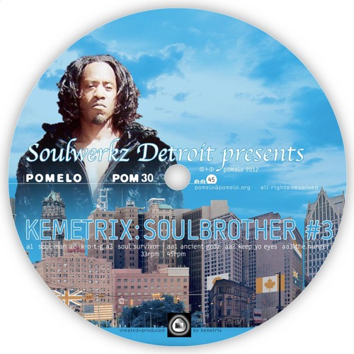 POM30 - Kemetrix - Soulbrother #3 (preview)