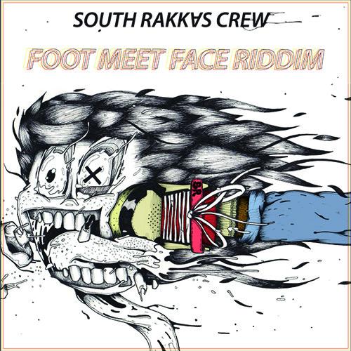 Foot Meet Face Riddim - D-Rakkas (Instrumental)