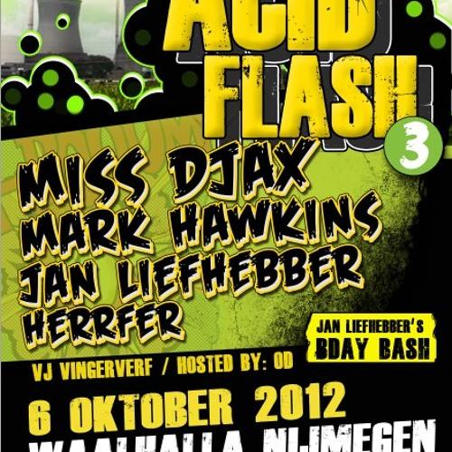 Miss Djax live @ Acid Flash 06.10.12