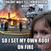 The Roof Is On Fire