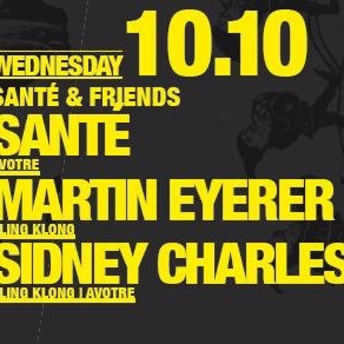 |10.10.2012| Sidney Charles @ Suicide Circus, Berlin