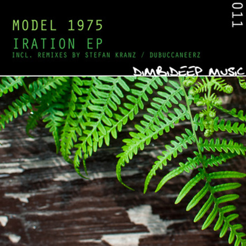 "[DIMBI011] Model 1975 - Iration EP - Digital + limited clear 12"" Vinyl"