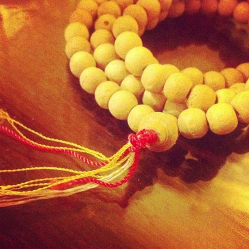 A bracelet from a Monk at วัดพระธาตุดอยสุเทพราชวรวิหาร (Wat Phrathat Doi Suthep)