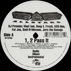 Mad Lion, Doug E Fresh, KRS-One, Fat Joe, Smif-N-Wessun & Jeru The Damaja - 1,2 Pass It (1995)