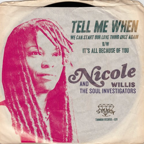 Nicole Willis & The Soul Investigators - It's All Because Of You - Sample