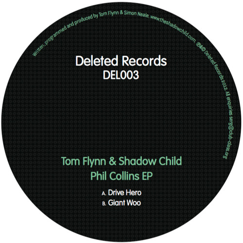 Tom Flynn + Shadow Child 'Drive Hero' [out 5th Nov on Deleted]