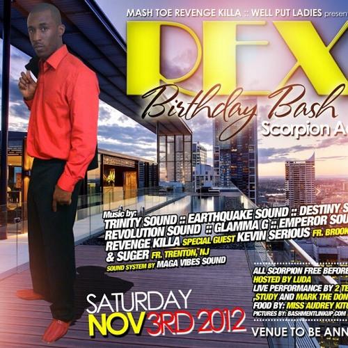Rex Bday Bash DROP - I. Q