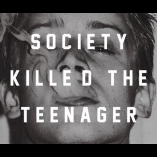 Society killed the Teenager (mixed by flex.riot)