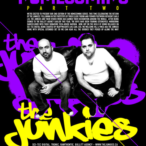 The Junkies Live @ Footwork, Toronto 28-09-2012
