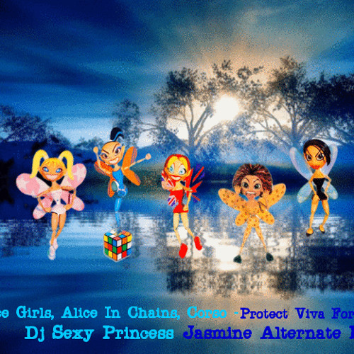 Spice Girls, Alice In Chains, Corso - Protect Viva Forever (Dj Sexy Princess Jasmine Alternate Mix)