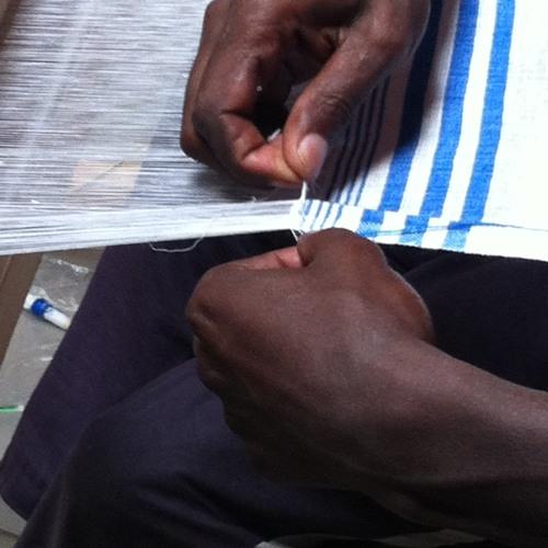 Visiting the weavers at Muya