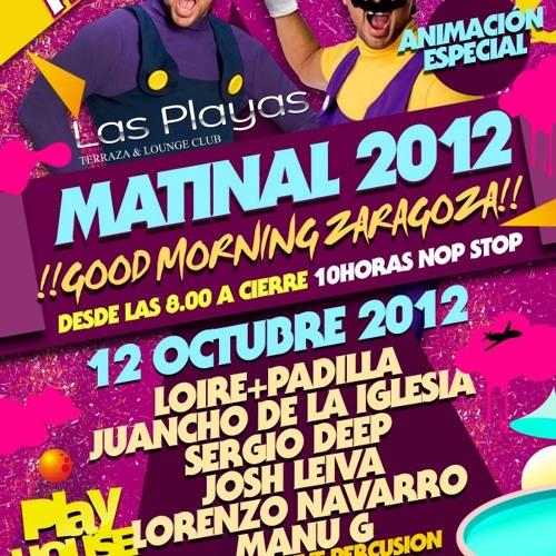 Sergio Deep Matinal Las Playas Zaragoza 12 10 2012 By