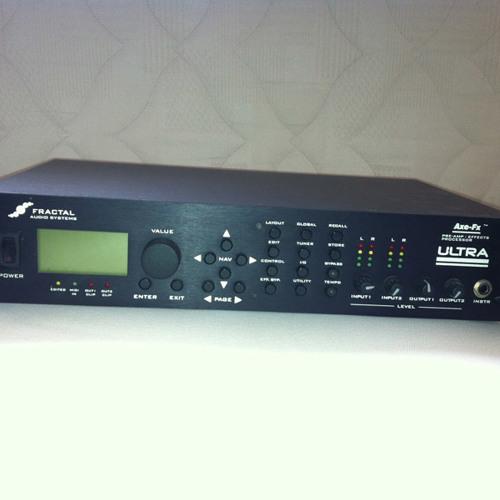 Ultra Black (Fractal Audio Axe-Fx Ultra Test track)